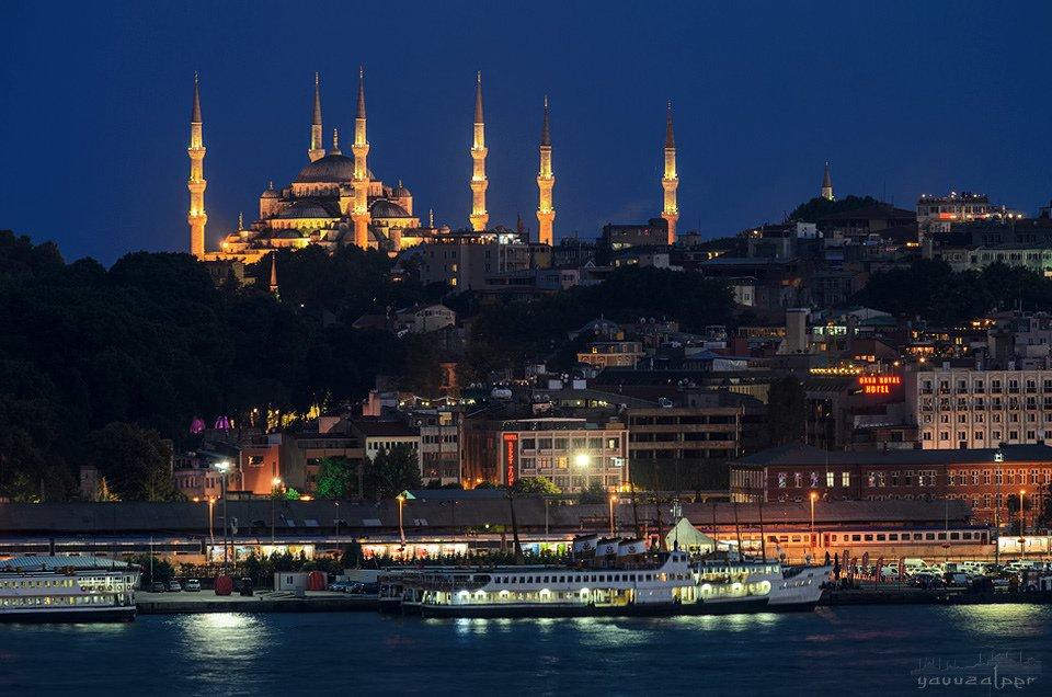 sultan ahmet camii ve sirkeci