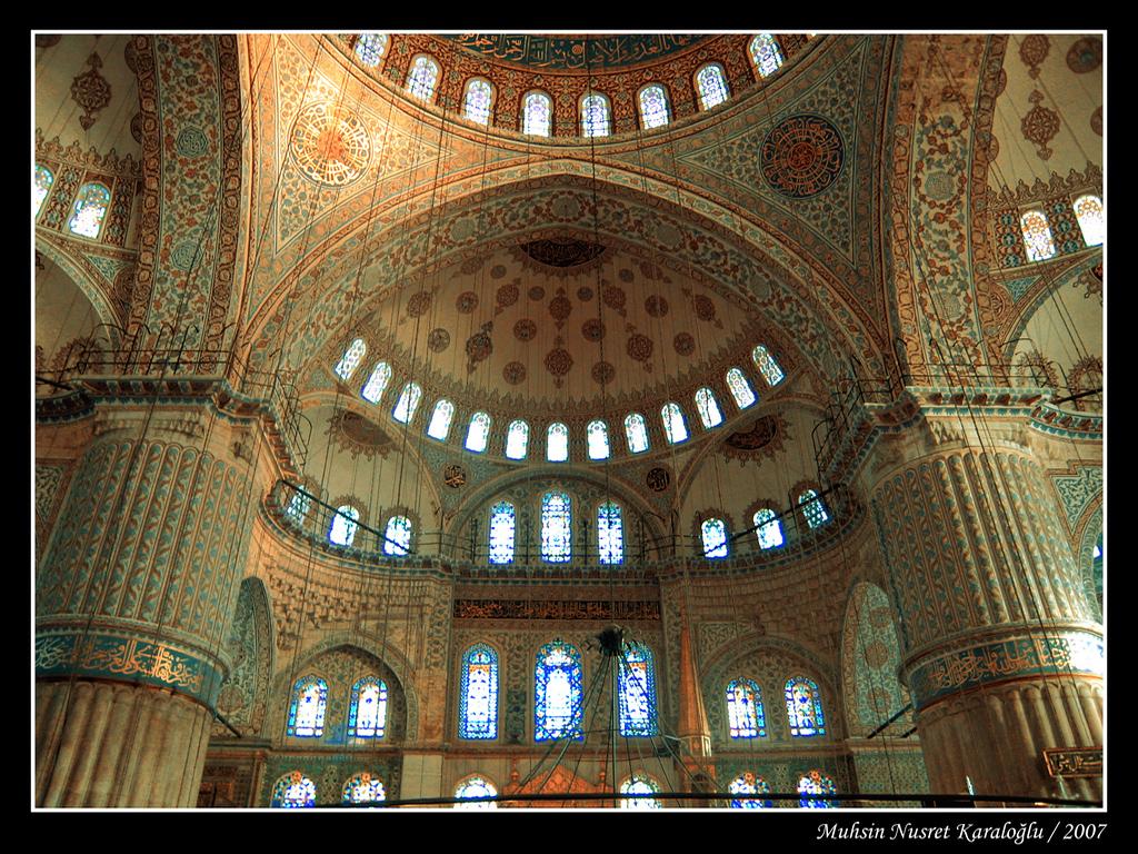sultanahmet camii üst kısım