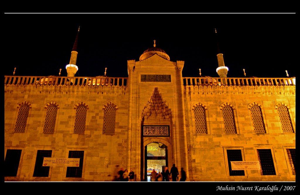 sultanahmet camii giriş