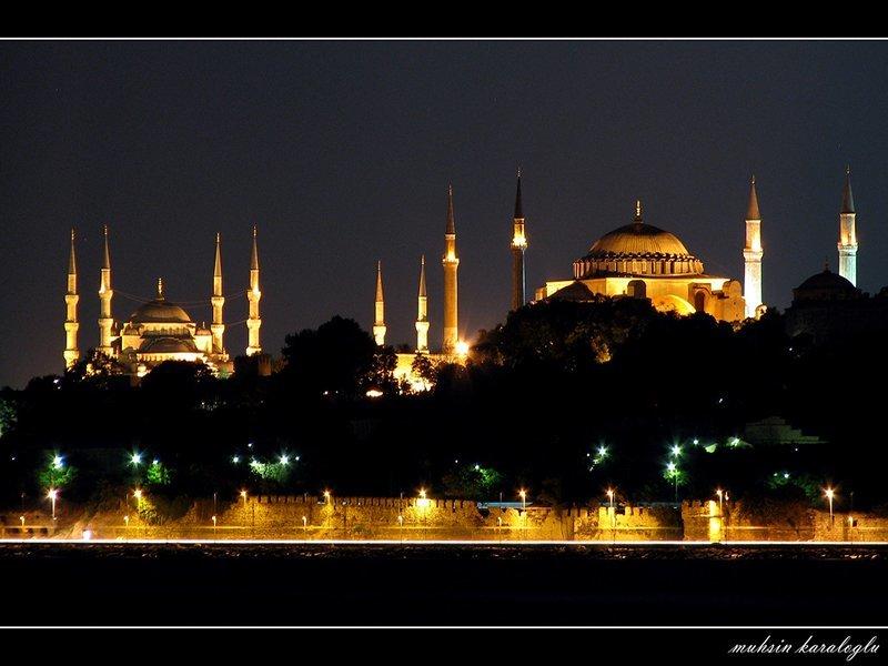 sultanahmet camii ve ayasofya