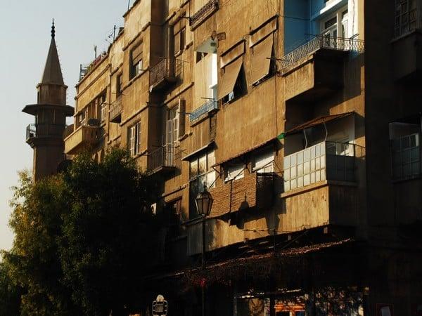 suriye şehir manzarası