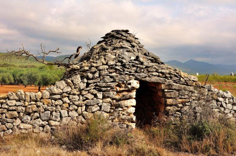 taş baraka dış görünüş