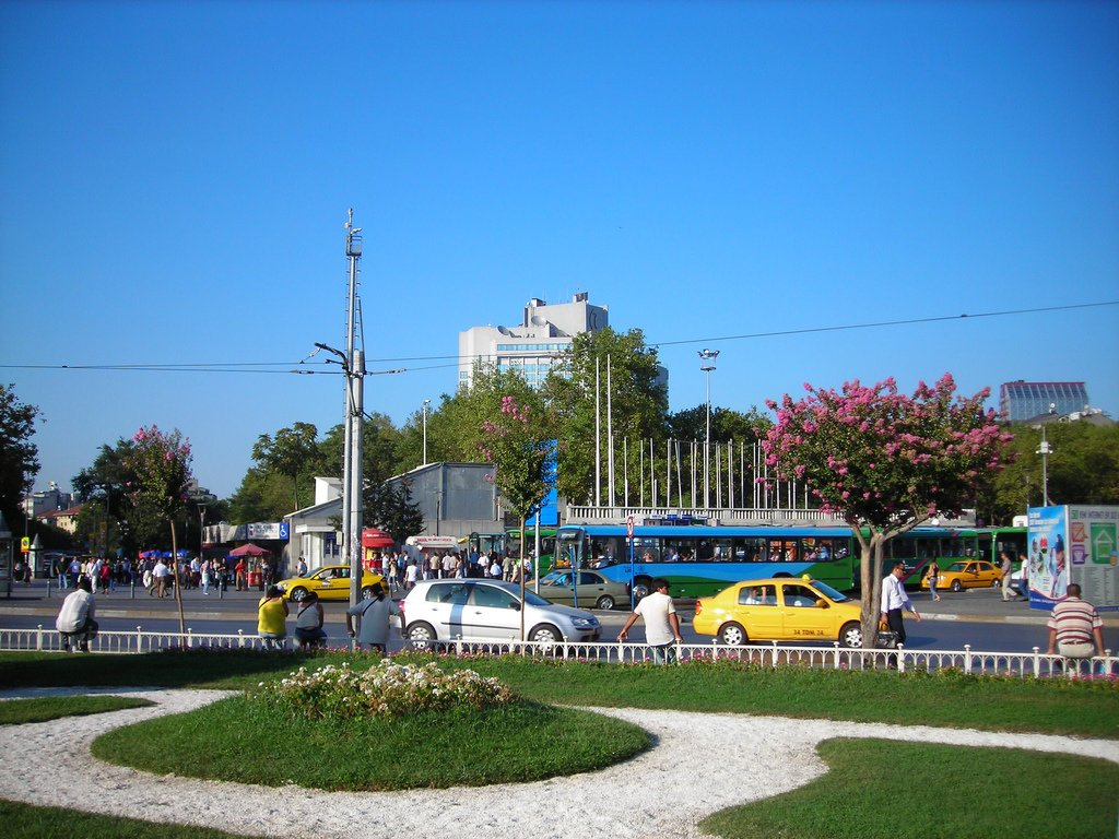 taksim manzaraları