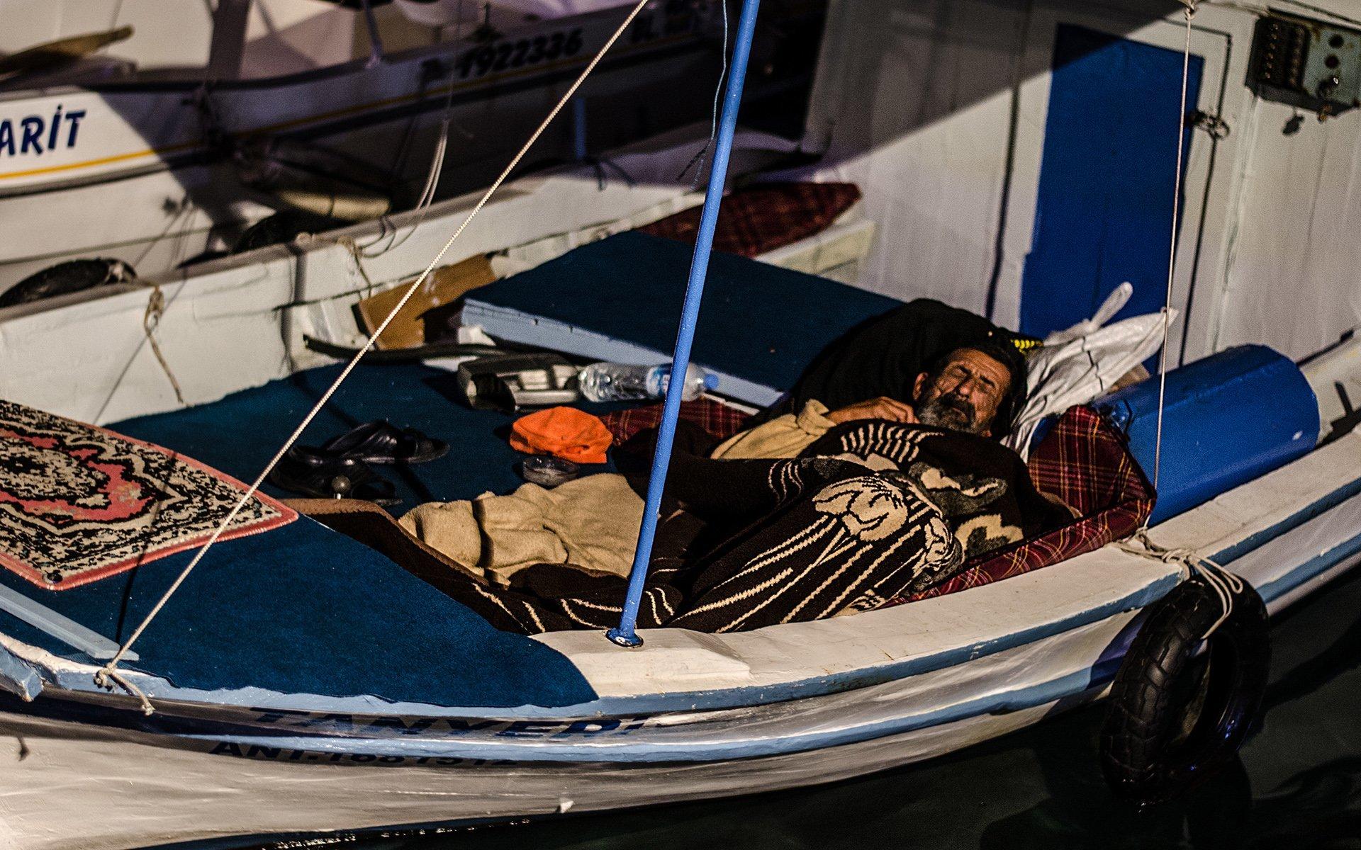 teknedeki adam