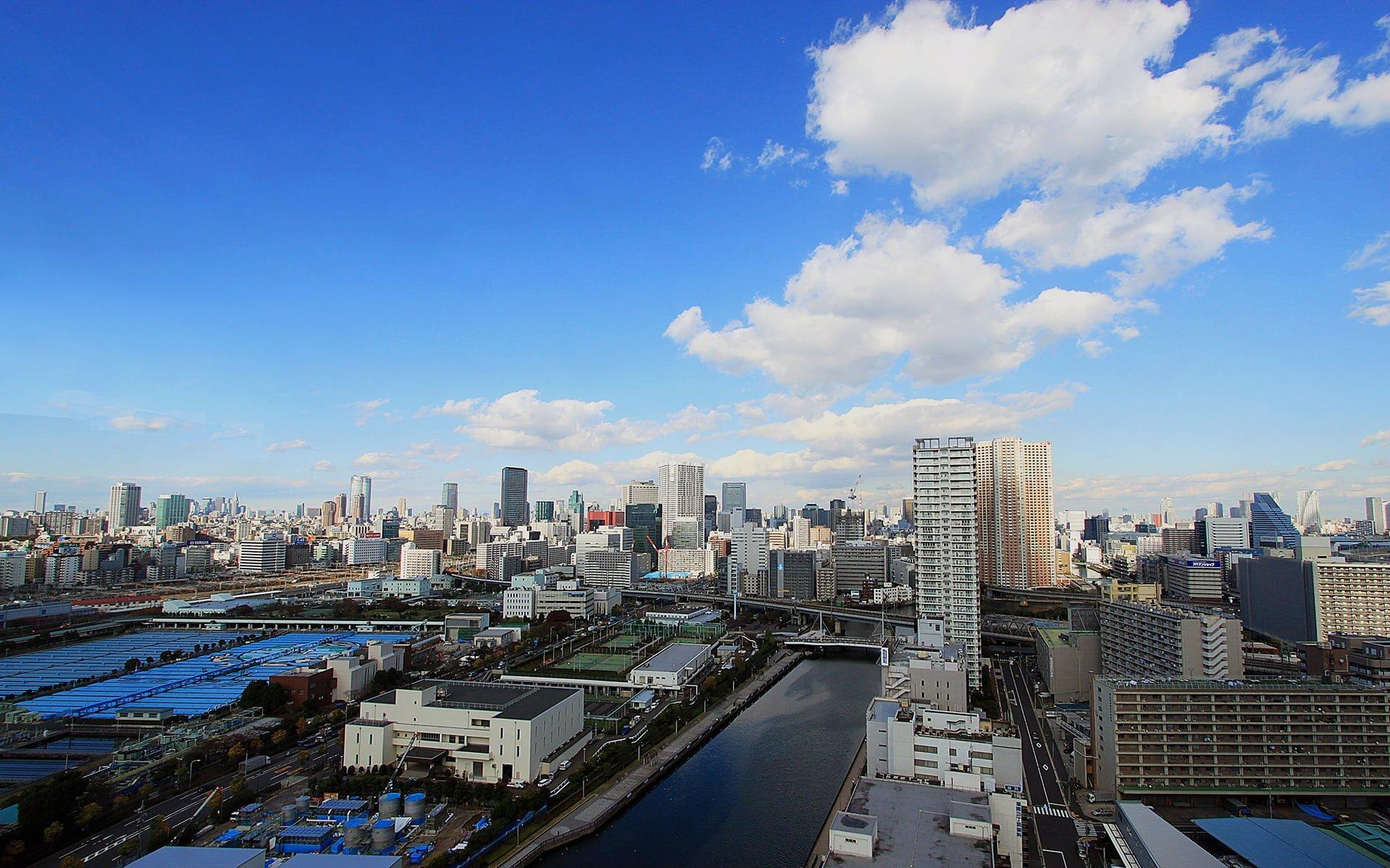 tokyo şehir manzarası