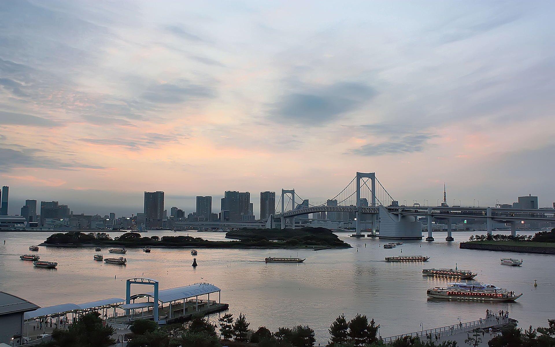tokyo gün batımı