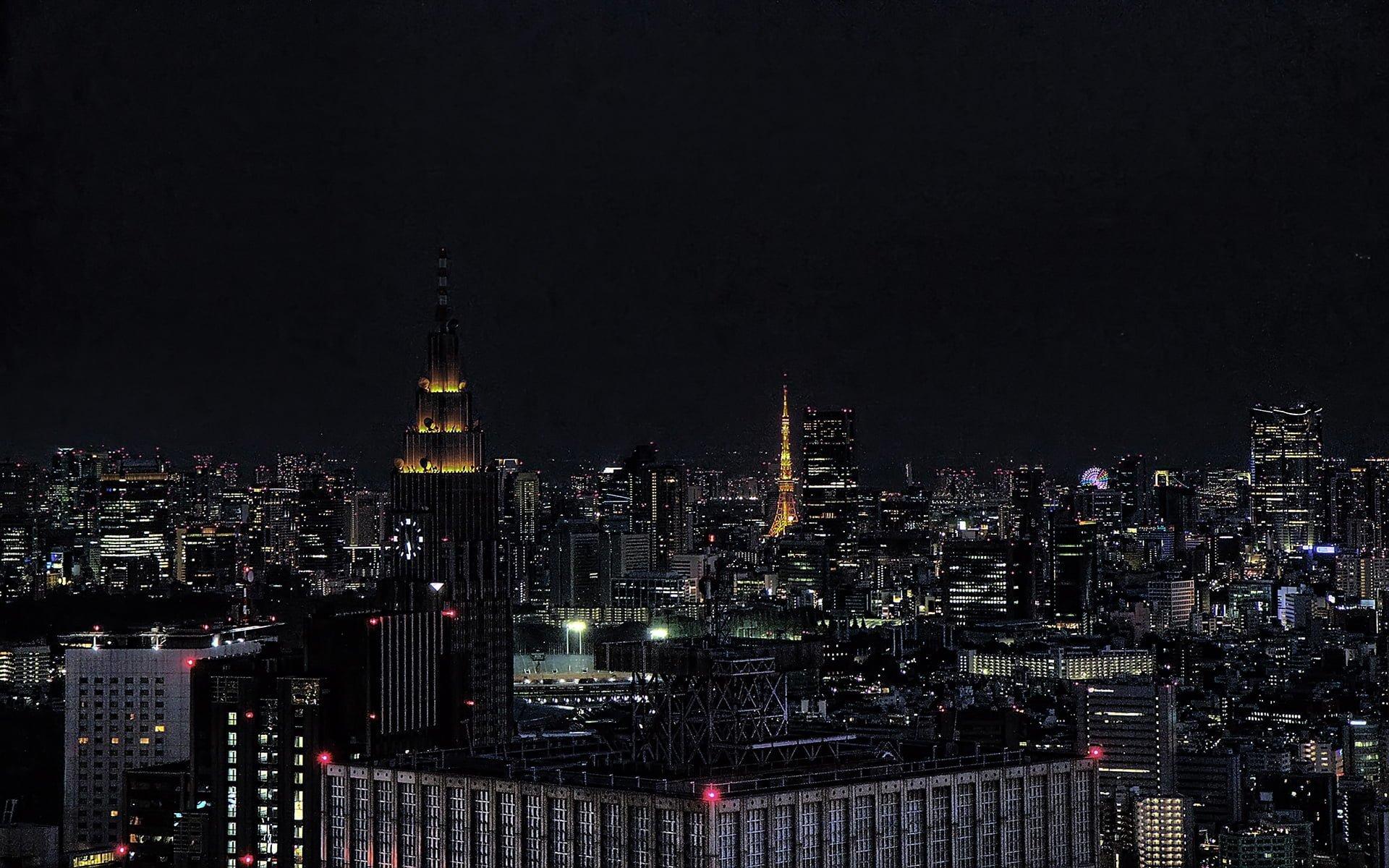 tokyo karanlık şehir