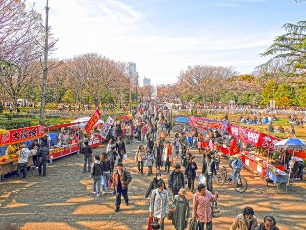 tokyo yoyogi parkı