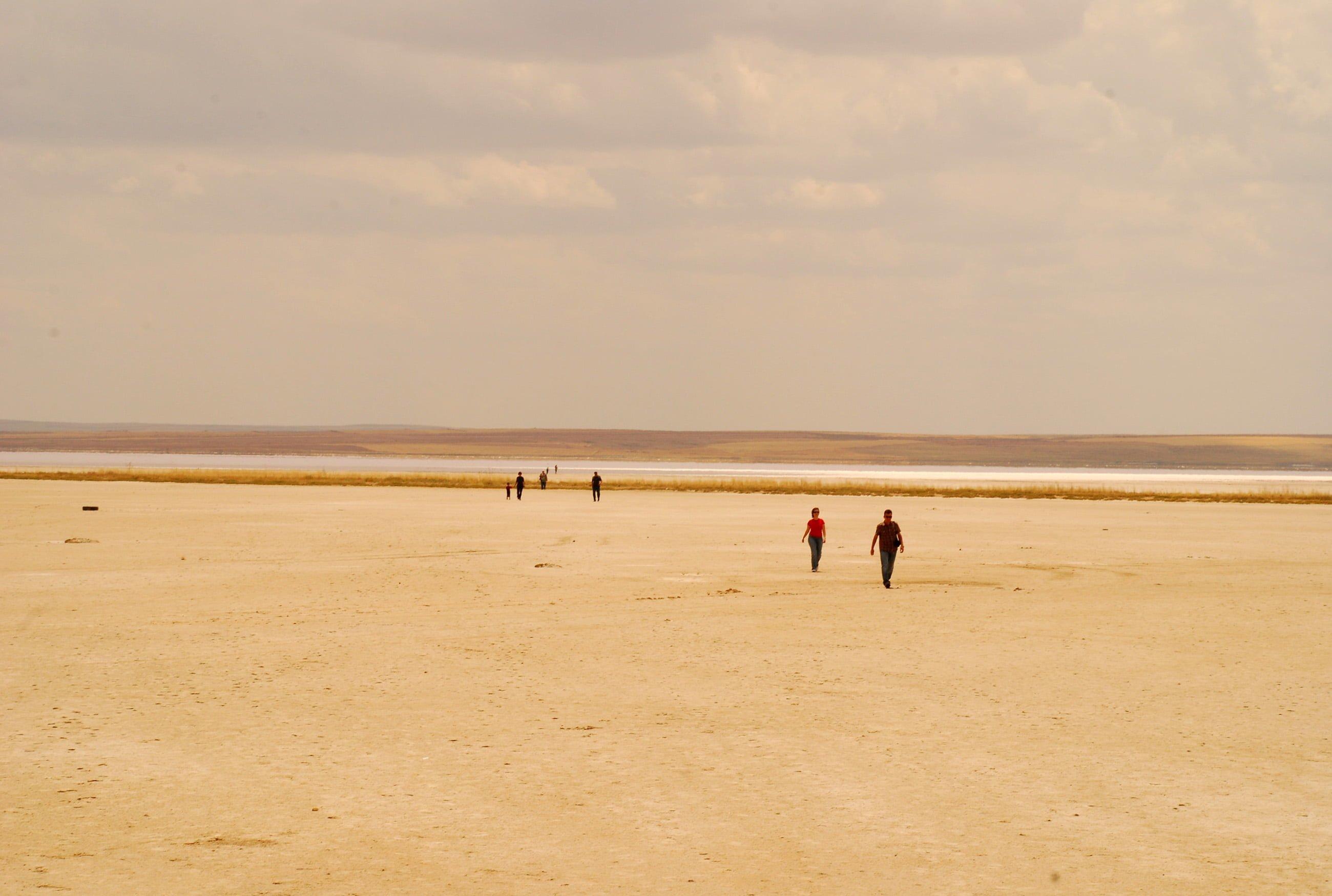 tuz gölü manzaraları