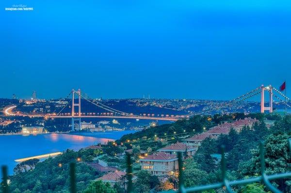 Ulus'tan Boğaz Köprüsü
