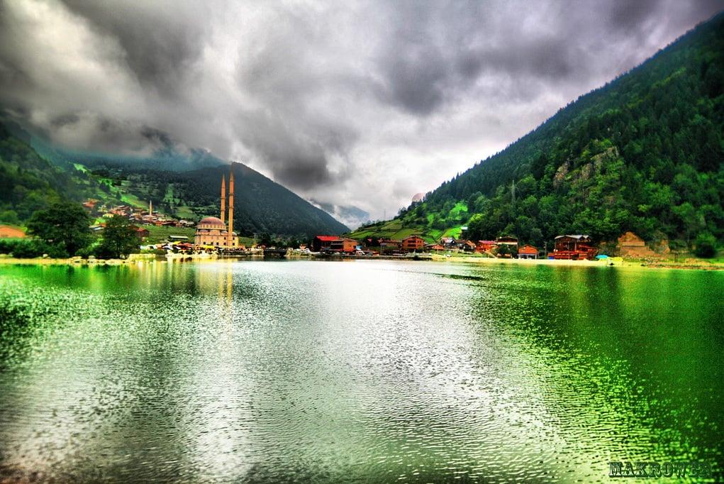 uzun göl manzaraları