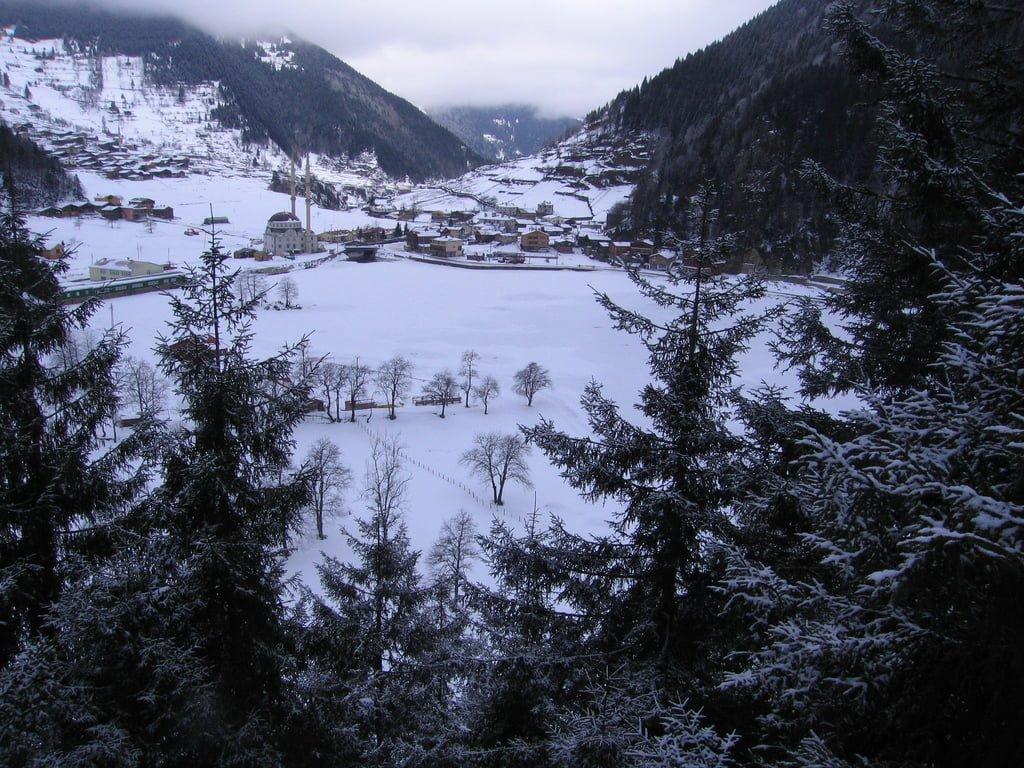 uzungöl kış