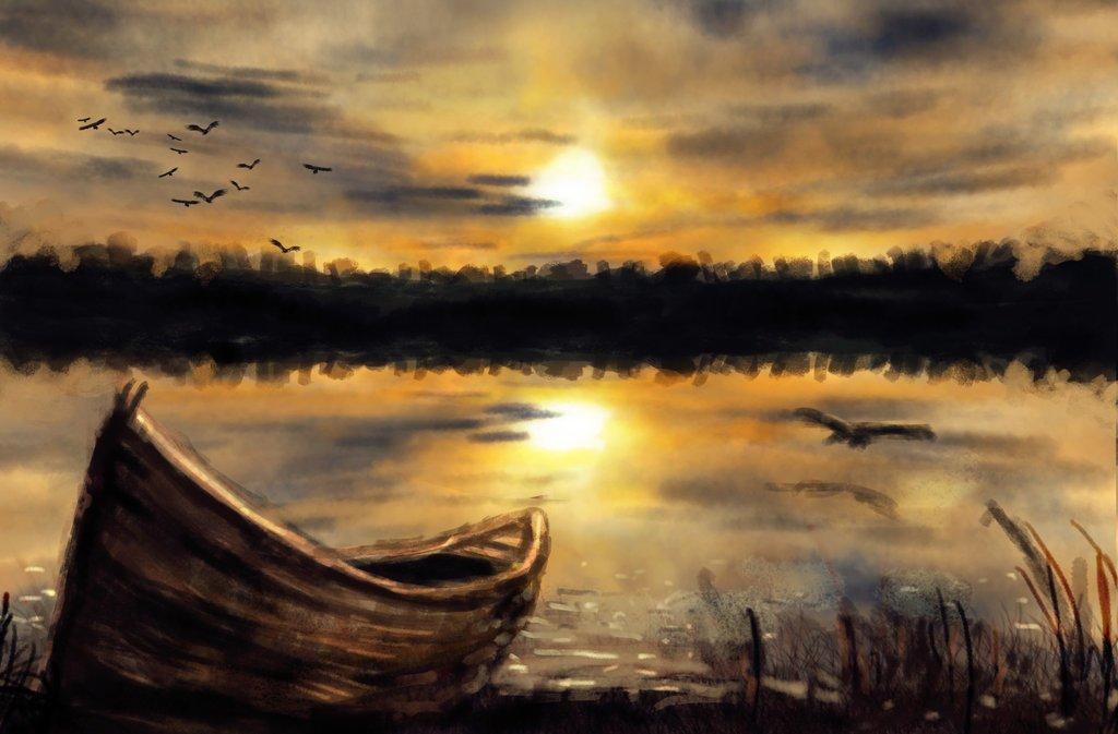 yalnız bir tekne