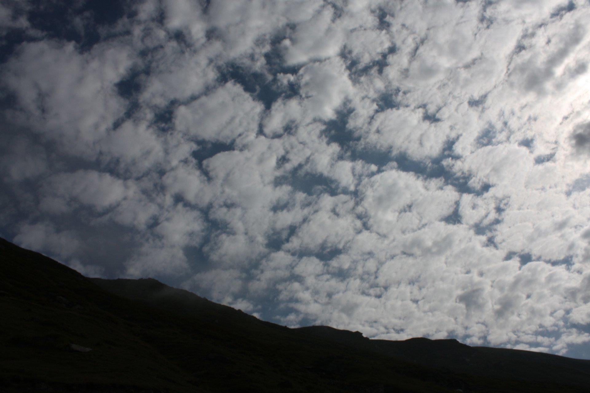 yayla ve bulutlar
