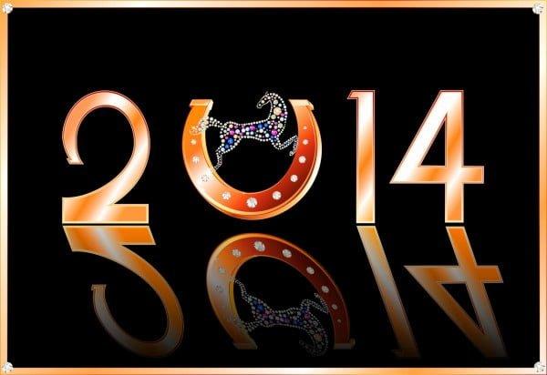 yeni yıl arka planı 2014