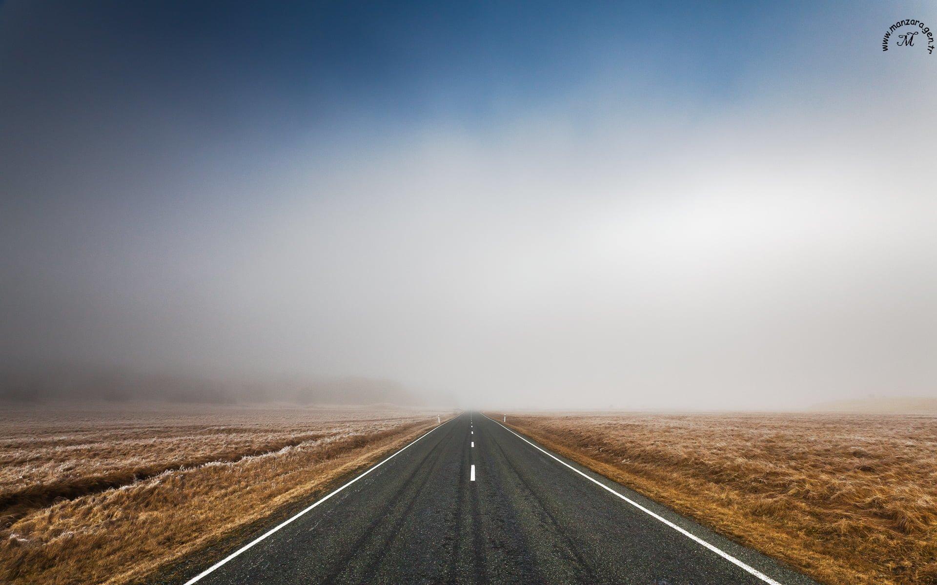 yol manzarası
