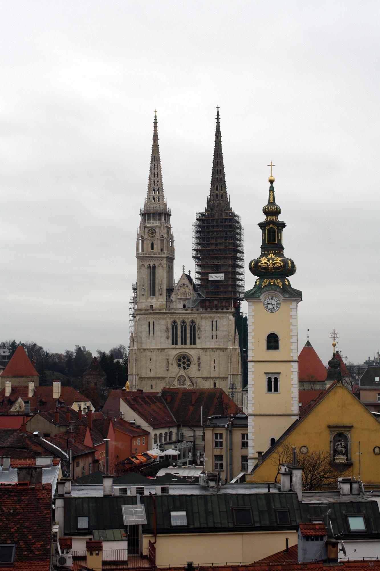 zagrep katedrali resimleri